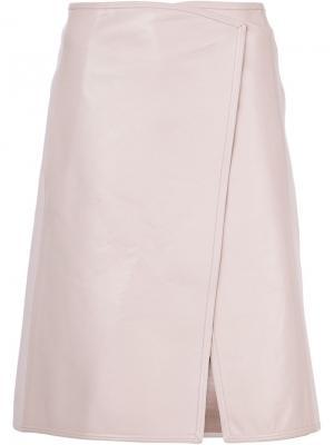 Wrap skirt Kaufmanfranco. Цвет: розовый и фиолетовый