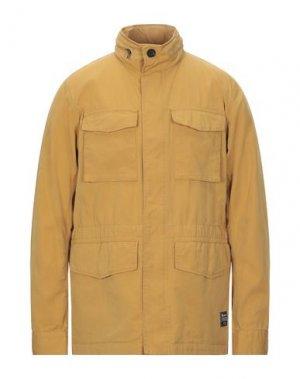 Легкое пальто ADHOC. Цвет: охра