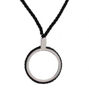 Ожерелье JIL SANDER. Цвет: черный
