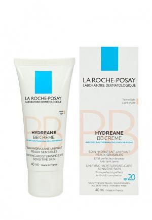 BB-Крем La Roche-Posay HYDREANE, для чувствительной кожи, светлый оттенок, 40 мл. Цвет: бежевый