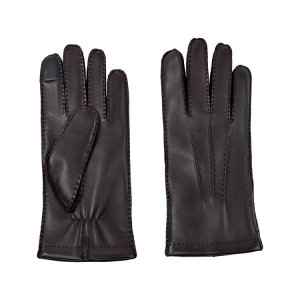 Перчатки GLOVES ECCO. Цвет: коричневый