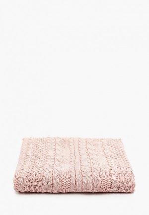 Плед Choupette 100х100 см. Цвет: розовый