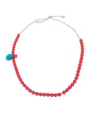 Ожерелье ATTIC AND BARN. Цвет: красный