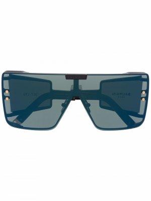 Солнцезащитные очки-авиаторы Wonder Boy Balmain Eyewear. Цвет: черный