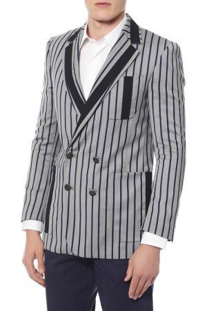 Пиджак Vivienne Westwood. Цвет: серый, синяя полоска