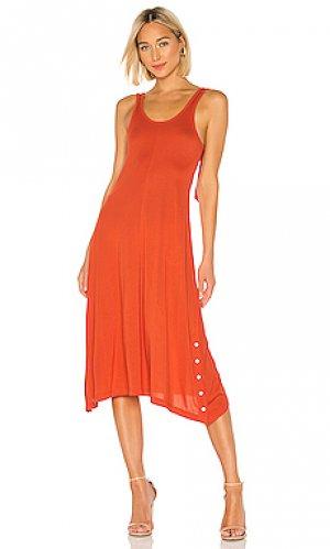 Платье-майка allegra Rag & Bone. Цвет: красный