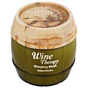 Ночная винная маска-желе с белым вином Wine rapy Sleeping Mask (White Wine) Holika