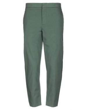 Повседневные брюки BARENA. Цвет: зеленый-милитари
