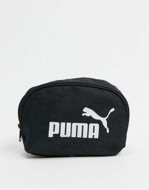 Черная сумка на пояс Phase-Черный Puma