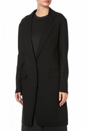 Пальто DKNY. Цвет: черный