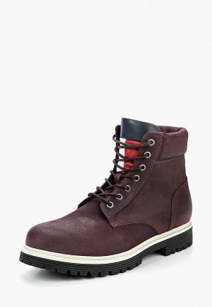 Ботинки Tommy Jeans. Цвет: фиолетовый