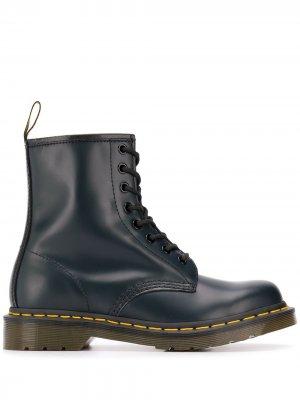 Ботинки на шнуровке Dr. Martens. Цвет: синий
