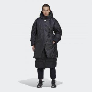 Парка-пуховик Prime COLD.RDY Performance adidas. Цвет: черный