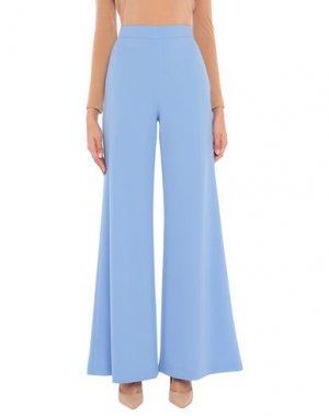 Повседневные брюки BOTONDI MILANO. Цвет: небесно-голубой