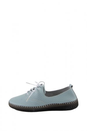 Туфли NG. Цвет: голубой, серый
