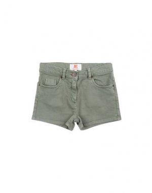 Джинсовые шорты AMERICAN OUTFITTERS. Цвет: зеленый-милитари