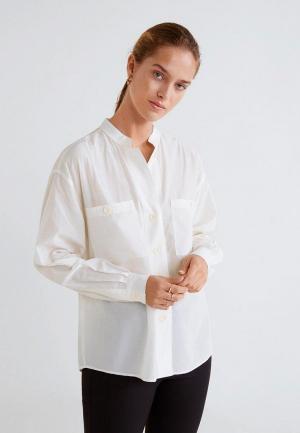 Рубашка Mango - MAO. Цвет: белый