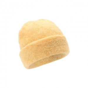 Шерстяная шапка Bilancioni. Цвет: жёлтый