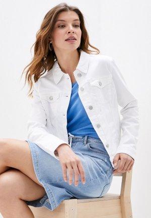 Куртка джинсовая s.Oliver. Цвет: белый