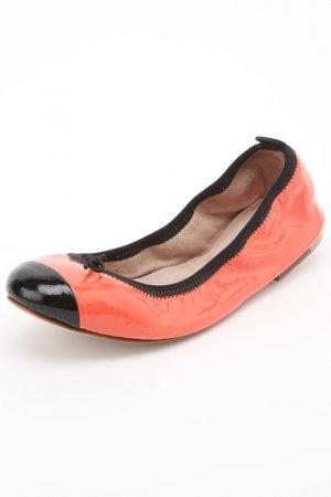 Туфли LUXURY BALLET FLAT Bloch. Цвет: красный