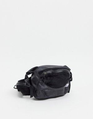 Черная водонепроницаемая сумка-кошелёк на пояс Lumbar-Черный цвет The North Face