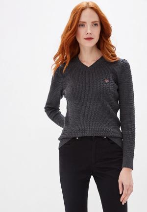 Пуловер Jimmy Sanders. Цвет: серый