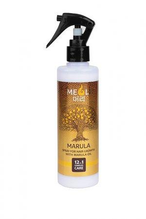 Спрей для роста волос MEOLI. Цвет: коричневый