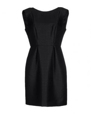 Короткое платье INTROPIA. Цвет: черный