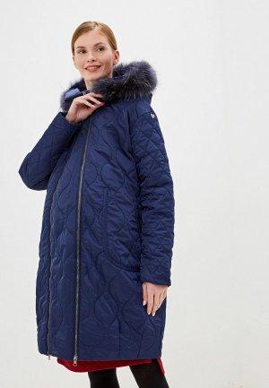Куртка утепленная Modress. Цвет: синий