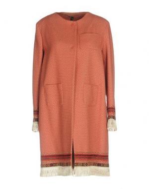 Пальто MANILA GRACE. Цвет: красный
