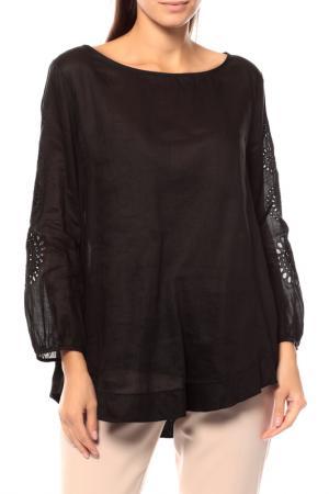 Комплект: блуза, топ Max Mara Studio. Цвет: черный