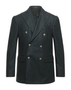 Пиджак PULITO. Цвет: темно-зеленый