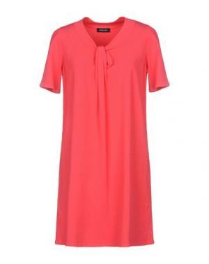 Короткое платье ANNECLAIRE. Цвет: фуксия