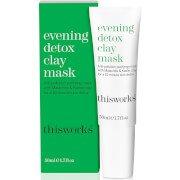 Глиняная детокс-маска для лица this works Evening Detox Clay Mask 50 мл