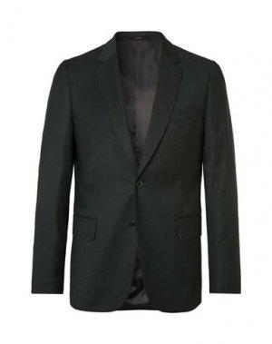 Пиджак PAUL SMITH. Цвет: темно-зеленый