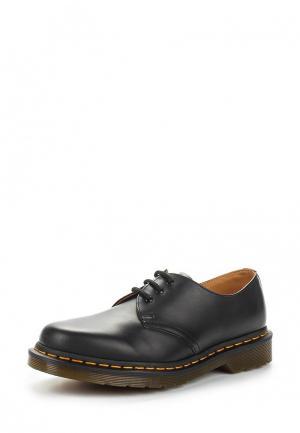 Ботинки Dr. Martens 3 Eye Gibson. Цвет: черный