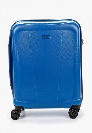 Чемодан Verage Cabin size. Цвет: синий