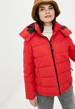 Куртка утепленная Outhorn. Цвет: красный