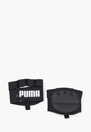 Перчатки для фитнеса PUMA TR Ess Grip Gloves. Цвет: черный