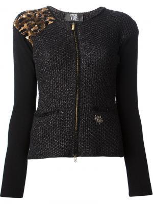 Куртки VDP. Цвет: чёрный
