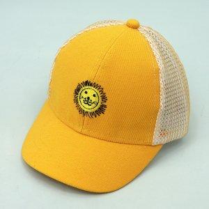Детская сетчатая бейсболка SHEIN. Цвет: жёлтые