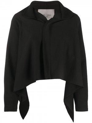 Куртка с асимметричным подолом Frankie Morello. Цвет: черный