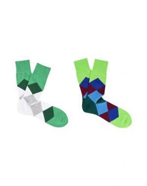 Короткие носки BURLINGTON. Цвет: зеленый