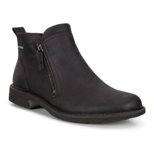 Ботинки TURN ECCO. Цвет: черный