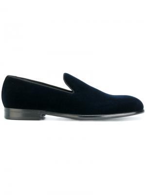 Слипперы Milan Dolce & Gabbana. Цвет: синий