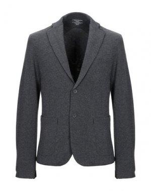 Пиджак MAJESTIC FILATURES. Цвет: стальной серый