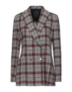 Пиджак T-JACKET by TONELLO. Цвет: красно-коричневый