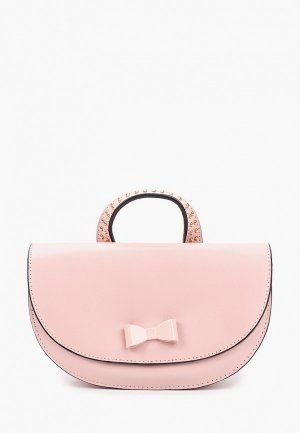 Сумка Alessandro Beato. Цвет: розовый