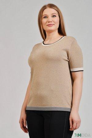 Пуловер Bianca. Цвет: бежевый