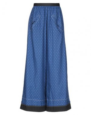 Повседневные брюки HACHE. Цвет: синий